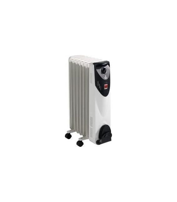 Radiador Aceite FM RW15, 1500w, 7 Elementos, Hu