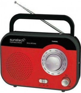 RADIO SUNSTECH RPS560RD SINTONIZADOR ANALOGICO AM