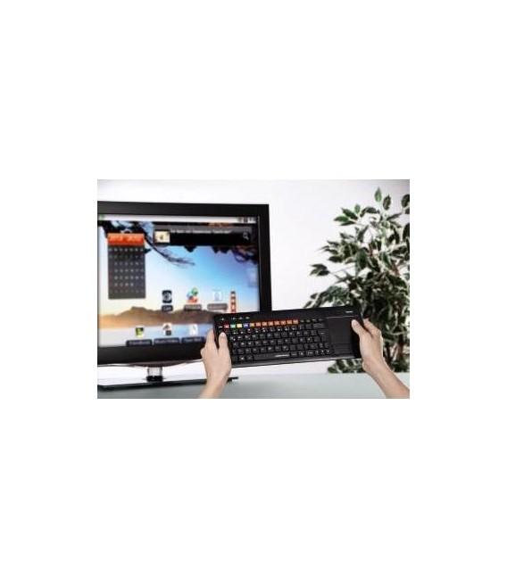 Teclado Hama 173090 Uzzano 3.0 p/Smart TV
