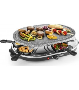 RACLETTE PRINCESS 162720 8 OVAL STONE GRILL PARTY