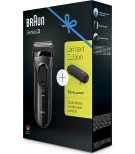 Afeitadora Braun 3020 Black Serie 3