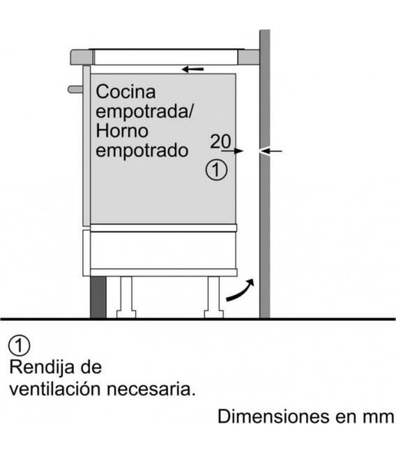 Induccion Balay 3EB967FR, 3 zonas, 60cm, Bisel fro