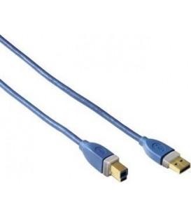 Cable Hama USB a USB B 1,2 m., 11276
