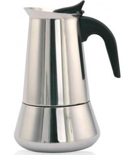 Cafetera Orbegozo KFI260, 2 tz, Inox, induccion
