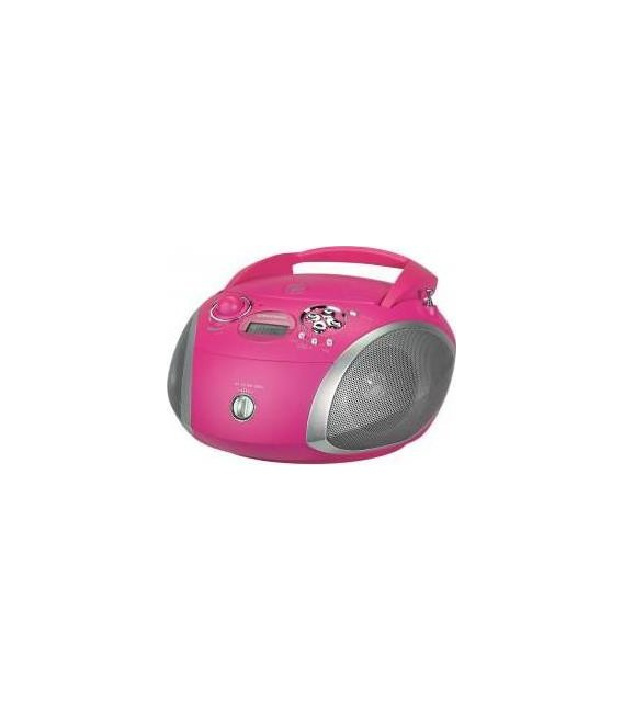 Radio Cd Grundig RCD1445 Rosa, USB