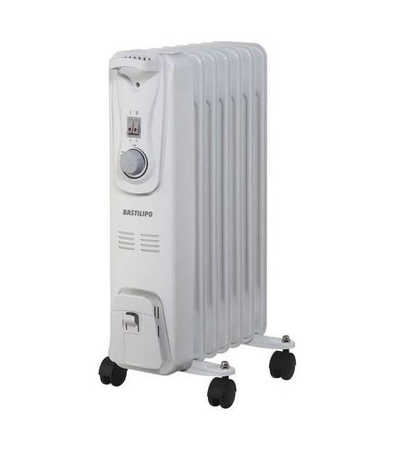 Radiador Bastilipo RAC71500, 7 elementos, 1500W, e