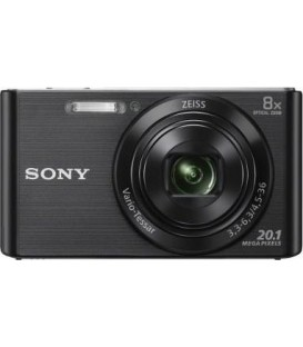 KIT Camara Sony DSCW830 negra (20,1 Mp / Zoom 8x )