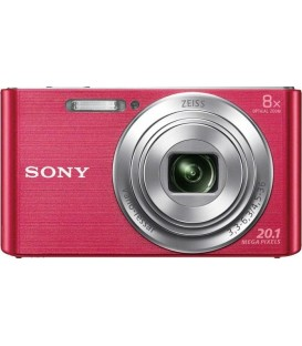 KIT Camara Sony DSCW830 rosa (20,1 Mp / Zoom 8x )