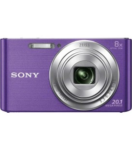 KIT Camara Sony DSCW830 violeta (20,1 Mp / Zoom 8x