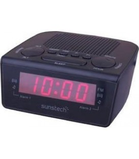 Radio Despertador Sunstech FRD18BK
