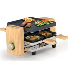 GRILL PRINCESS 162900 RACLETTE PURE 4 PERSONAS