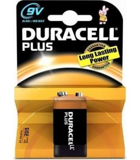 Pila Duracell Alcalina Plus Power 9V 6LR61 K1