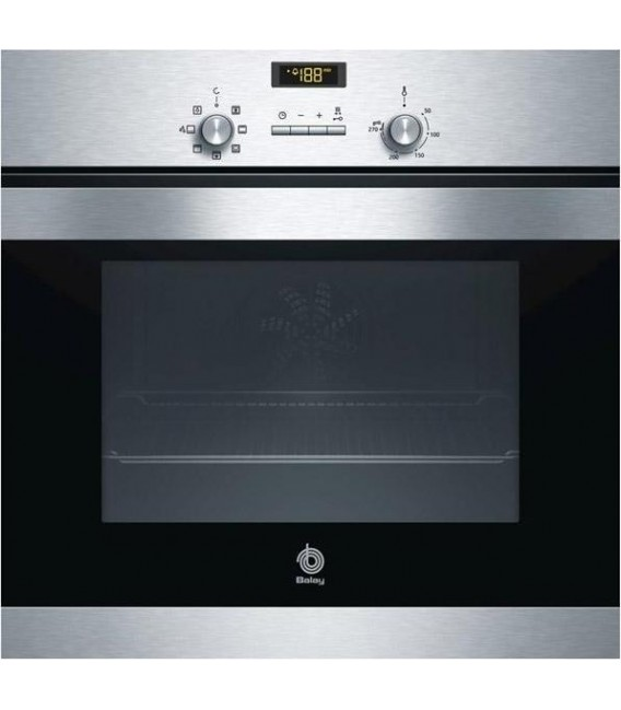Horno Balay 3HB506XM, 62L, multifuncion, Inox