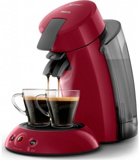 Cafetera Senseo Philips HD655582, XL Roja