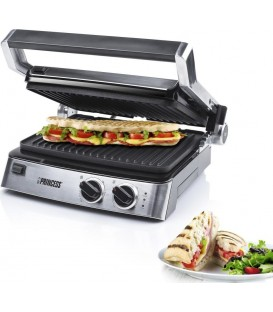 GRILL PRINCESS 117300, 29x23CM, 2 TERMOSTATOS
