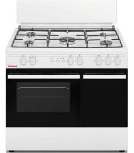 Cocina Corbero CC510GB90W, 5 fuegos, horno, 90cm,