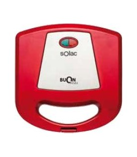 Sandwichera Solac SD5056, 750w, Red, Grill