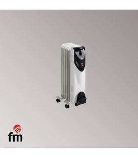 Radiador Aceite FM BR10, 1000w, 5 Elementos, Al