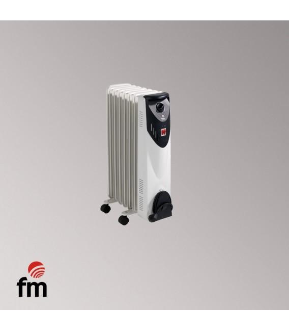 Radiador Aceite FM BR15, 1500w, 7 Elementos, Al