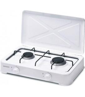 Cocina Bastilipo CG200 2fuegos Gas Blanca