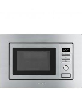 Microondas Smeg FMI020X, 21L, 1000w, C/Grill