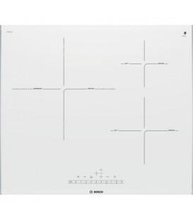 Induccion Bosch PID672FC1E, 3 zonas, 60cm, blanca
