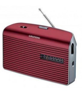 Radio Grundig MUSICBOY60, rojo
