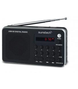 Radio Sunstech RPDS32SL, Digital, USB, Bateria