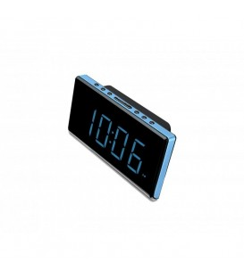 Radio Reloj Sunstech FRD28BL Despertador LED