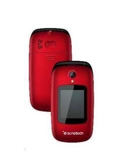"Smartphone Sunstech CELT22RD, 2.4"", Rojo"