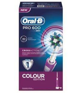 Cepillo dental Braun PRO600MO PRO600, MORADO CROSS