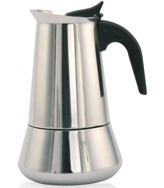 Cafetera Orbegozo KFI660, 6 tz, Inox, induccion