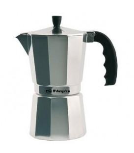 Cafetera Orbegozo KF900, 9 tz, aluminio