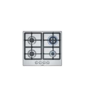 Encimera Bosch PGH6B5B90, 4 fuegos, gas, 60cm, ino