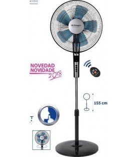 Ventilador Pie Orbegozo SF0640, 40cm, silent night