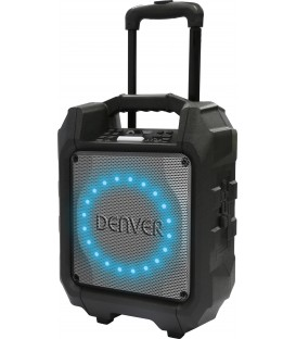 Altavoz trolley Denver TSP305, Bluetooth, radio F
