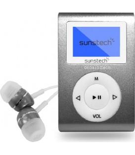 MP-3 SUNSTECH DEDALOIII8GBGY REPRODUCTOR MP3 DE 4G