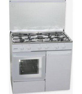 Cocina Rommer CH916BP, 5F, Natural, blanca