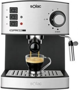 Cafetera Espresso Solac CE4480, 19 Bar, 1,2L, Inox