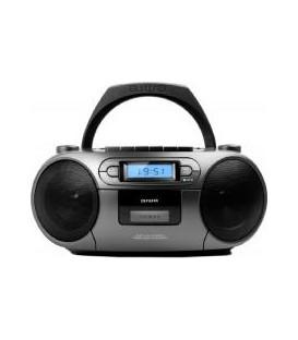RADIO CD AIWA BBTC550MG • BOOMBOX CON LECTOR DE CA