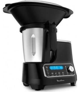 Robot cocina Moulinex HF4SPR30, Clickchef negro