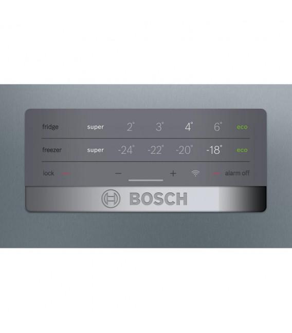 Combi Bosch KGN397LEQ, 203x60cm, E, Inox Mate