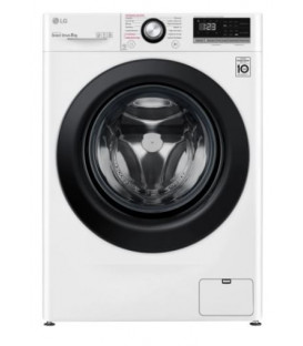 Lavadora LG F4WV3008S6W, 8kg, 1400rpm, A+++-40%, 6