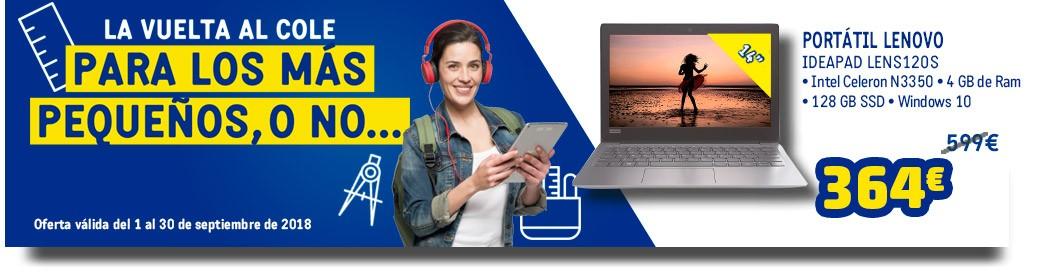 Ordenador Portatil LENOVO LEN120S-128GB,4Gb ,128GB
