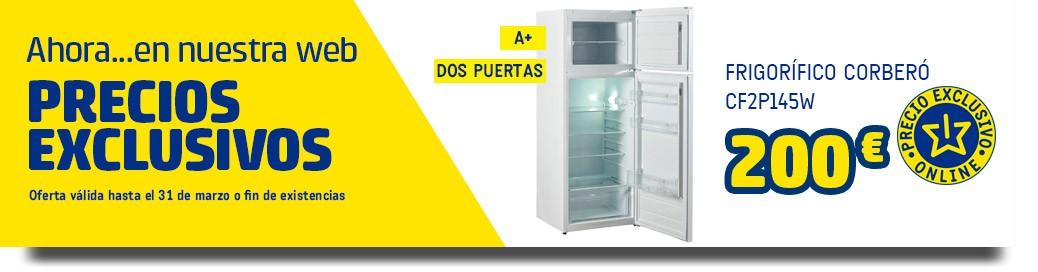 frigorifico corbero cf2p145w