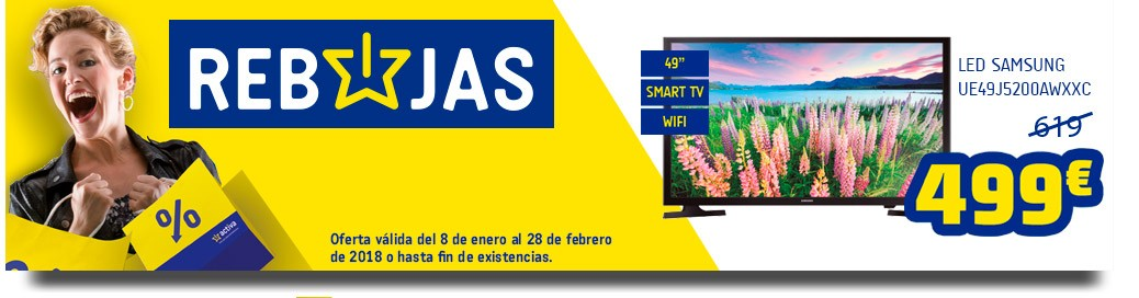 rebajas tv led samsung UE49J5200AWXXC